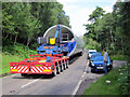 NH4458 : Another wind turbine in transit by Richard Dorrell
