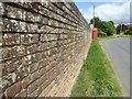 SO8642 : Kitchen garden wall by Philip Halling