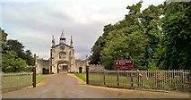 SE5947 : Entrance to Bishopthorpe Palace by Chris Morgan