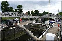 TF3244 : Grand Sluice Lock, Boston by Tim Heaton