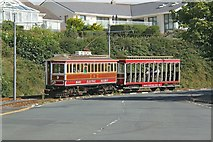 SC4077 : Manx Electric Railway 9 and 40 at Harbour Road, Onchan by Alan Murray-Rust