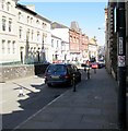 ST3188 : No cycling sign, Stow Hill, Newport by Jaggery