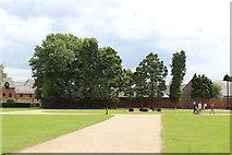 ST2885 : Lawns, Tredegar House Park by M J Roscoe