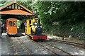 SC4178 : Groudle Glen Railway, Lhen Coan station by Alan Murray-Rust