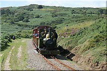 SC4278 : Groudle Glen Railway near Headland loop by Alan Murray-Rust