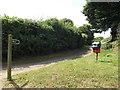 TM0074 : Upper Street Byway, Wattisfield by Adrian Cable