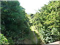 SC2684 : Footpath on the former Manx Northern Railway by Christine Johnstone