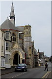 SX9473 : Southeast side of Teignmouth United Reformed Church, Teignmouth by Jaggery