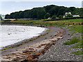 NX0366 : The Western Shore of Loch Ryan near to St Mary's Croft by David Dixon