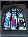 SU9985 : St James, Fulmer: stained glass window (e) by Basher Eyre