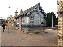 J0407 : The old Dundalk Central Signal Box at Dundalk Clarke Station by Eric Jones