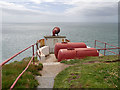 NX1530 : Foghorn at Mull of Galloway by David Dixon
