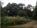 SE2840 : Footpath/Bridleway sign by Stephen Craven