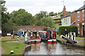 SP5465 : Lock at Grand Union Canal and Oxford Canal by Oast House Archive