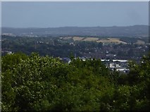 SX9291 : Exeter seen from Barley Mount by David Smith