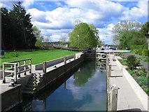 SU2799 : Grafton Lock by David Purchase