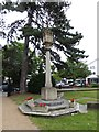 TQ0090 : Chalfont St Peter Parish Church: war memorial in the churchyard by Basher Eyre