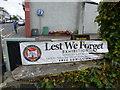J2458 : Banner, Lest We Forget by Kenneth  Allen