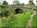 SJ8865 : Macclesfield Canal bridge no.61 by Alan Murray-Rust