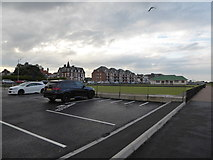 TG5307 : Car park by the bowling green by Basher Eyre