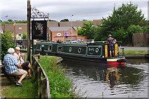SO8483 : Entering Kinver Lock by Stephen McKay