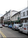 J0407 : Businesses in Bachelors Walk, Dundalk by Eric Jones