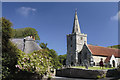 SZ4582 : Shorwell Church by Andy Stephenson