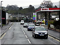 SO0451 : Builth Wells, Esso Garage on Station Road by David Dixon