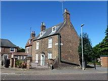 TF4509 : House near Wisbech Grammar School by Richard Humphrey