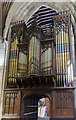 TA0928 : Organ, Holy Trinity church, Hull by Julian P Guffogg