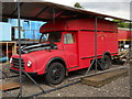 TL1597 : Former Morris Royal Mail van at Ferry Meadows station by Paul Bryan