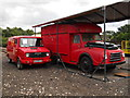 TL1597 : Former Morris and Leyland Sherpa Royal Mail vans at Ferry Meadows station by Paul Bryan