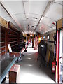 TL1597 : Interior of former Royal Mail Travelling Post Office at Ferry Meadows station by Paul Bryan