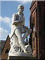 NX9776 : Statue of Robert Burns by Philip Halling