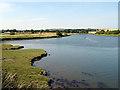 NU2410 : The River Aln by John Lucas