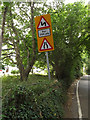 TQ4165 : Roadsign on Barnet Wood Road by Adrian Cable