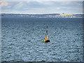 NO5829 : Abertay Cardinal Marker, Outer Tay Estuary by David Dixon
