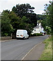 SO5014 : Munday & Jones van in the north of Monmouth by Jaggery