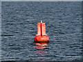 """NO6030 : Lateral Marker Buoy """"Middle Red"""" by David Dixon"""