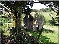 SK0161 : Ruined barn near Upper Hulme by Graham Hogg