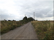TM0174 : Manning's Lane Byway to Honeypot Lane by Adrian Cable