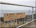 J5082 : 'Crew Wanted' sign, Bangor by Rossographer