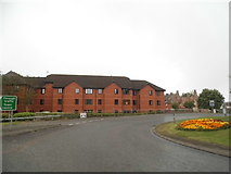 ST8558 : Flats on County Way, Trowbridge by David Howard