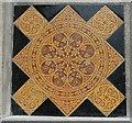 TF0516 : St Andrew's Church: floor tiles by Bob Harvey