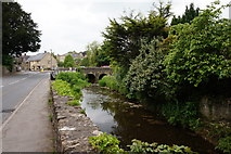 ST6834 : The River Brue, Bruton by Ian S