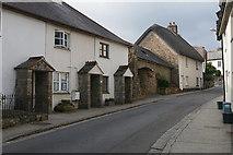 SX7087 : Lower Street, Chagford by Alan Hunt