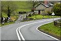 SO0453 : A483 Approaching Llanelwedd by David Dixon