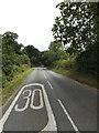 TL9775 : Barningham Road, Hepworth by Geographer