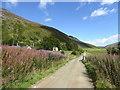 NN8332 : Glen Almond road at Conichan by Alan O'Dowd