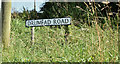 J5973 : Drumfad Road name sign, Millisle/Carrowdore (August 2016) by Albert Bridge